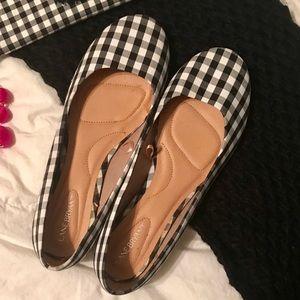 Lane Bryant Shoes - Gingham flats